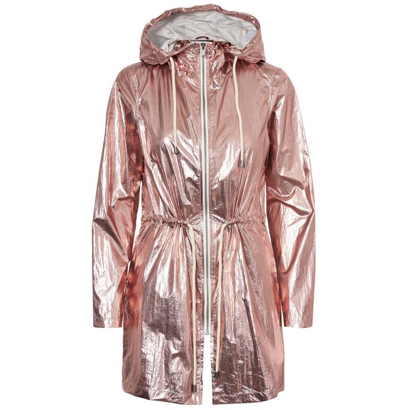 Noisy May Cara Rain Coat Barely Pink