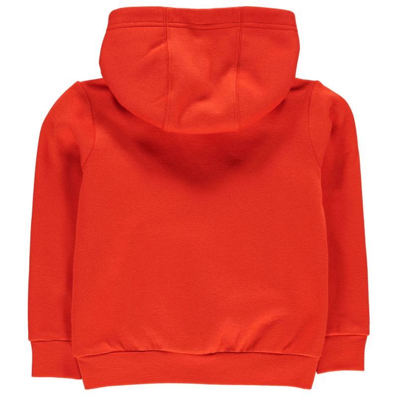 Mikina Slazenger Over The Head Fleece Hoody Infant Boys Orange