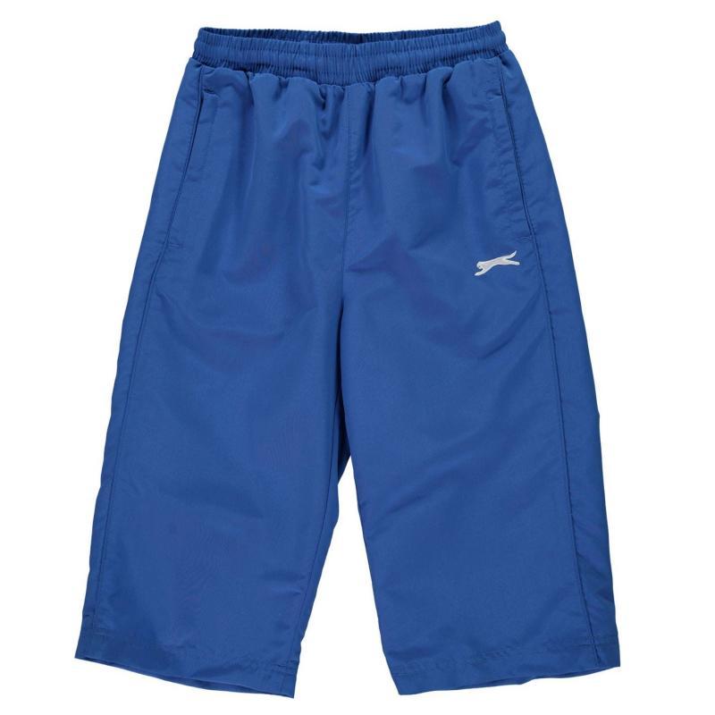 Kraťasy Slazenger Three Quarter Track Pants Junior Boys Charcoal