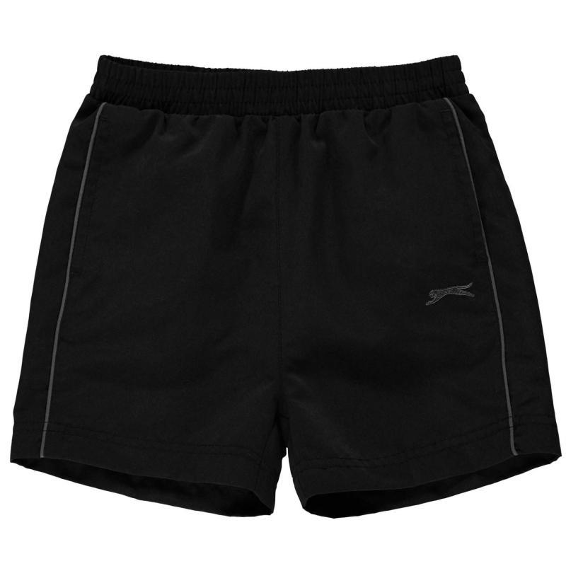 Kraťasy Slazenger Woven Shorts Infants Black