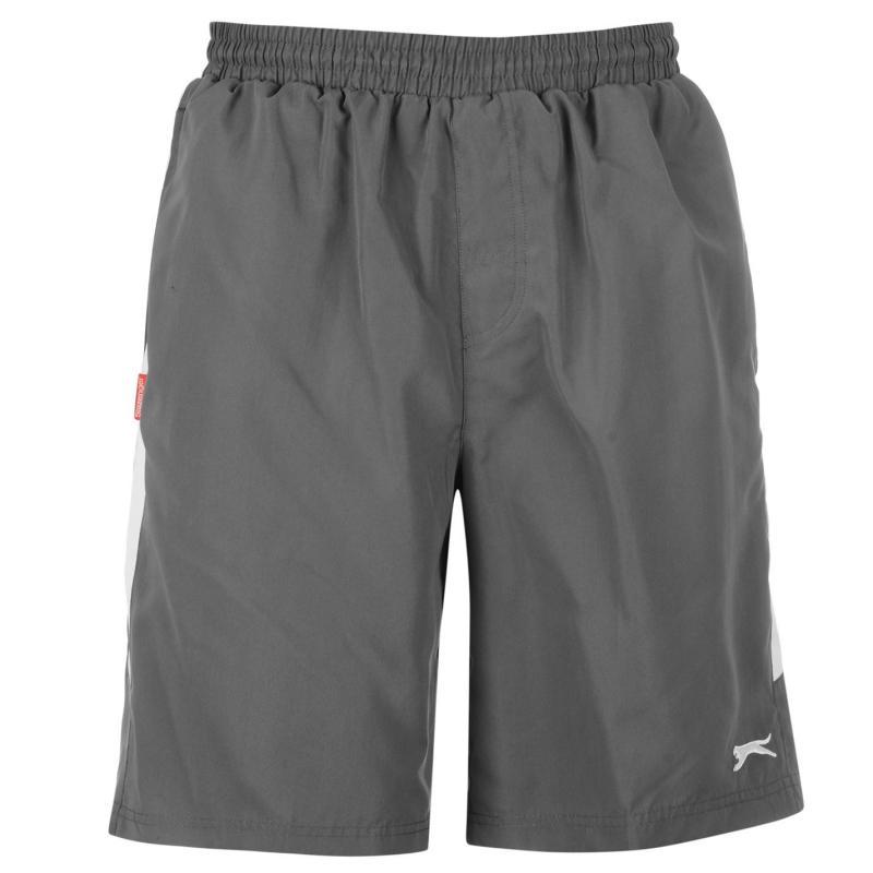 Slazenger Woven Shorts Mens Dark Green Velikost - XXL