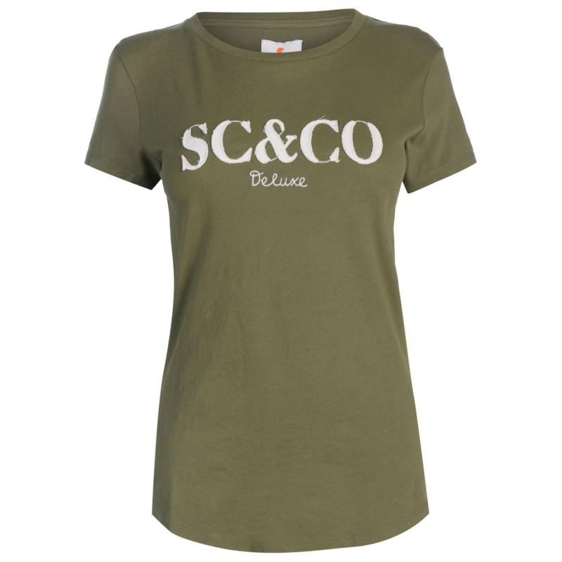 Tričko SoulCal Deluxe SCCO T Shirt Navy