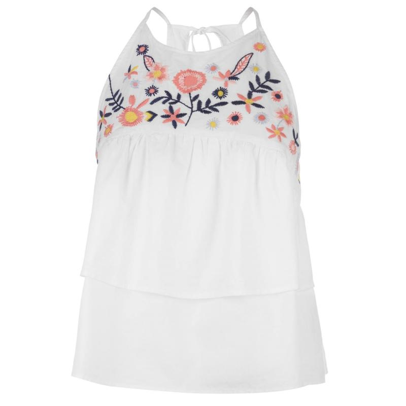 Košile SoulCal Tiered Top Ladies White
