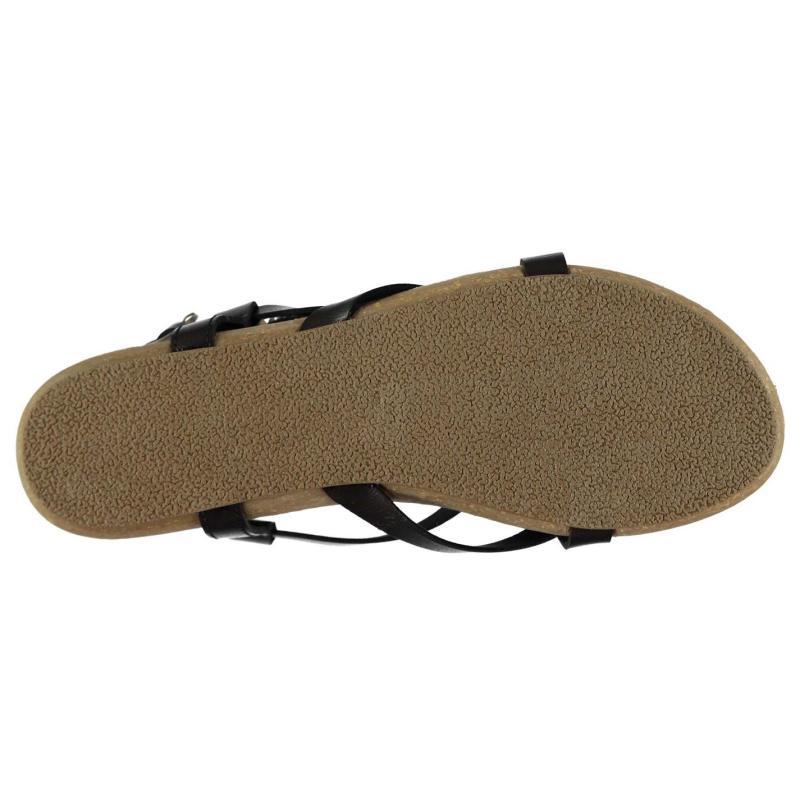 Boty Blowfish Golden Sandals Black