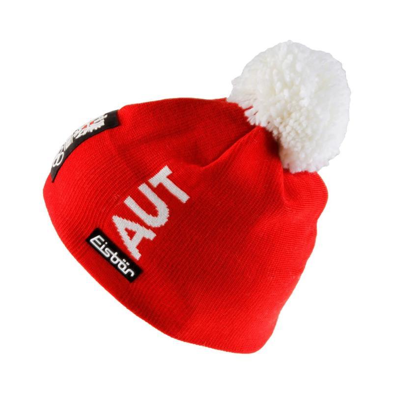 Eisbär Eisbar Aina Pompom Hat Junior Boys Red