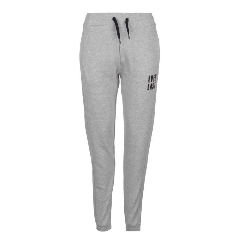 Sportovní kalhoty Everlast Interlocked Jogging Pants Ladies Black 20a36673f7