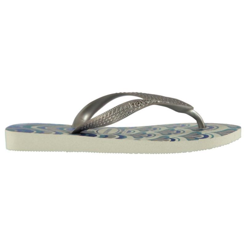 Boty Havaianas Spring Flip Flops White/Silver