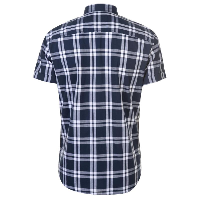 Jack and Jones Original Fischer Short Sleeve Shirt Total Eclipse