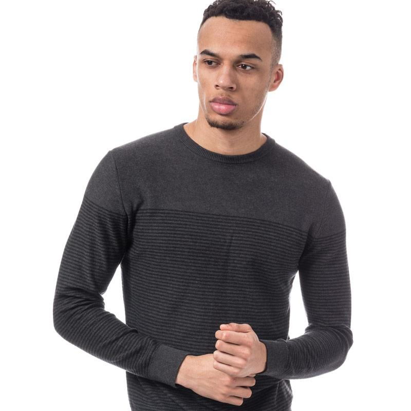 Jack Jones Mens Boost Knit Grey