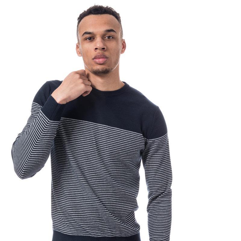 Jack Jones Mens Boost Knit Navy