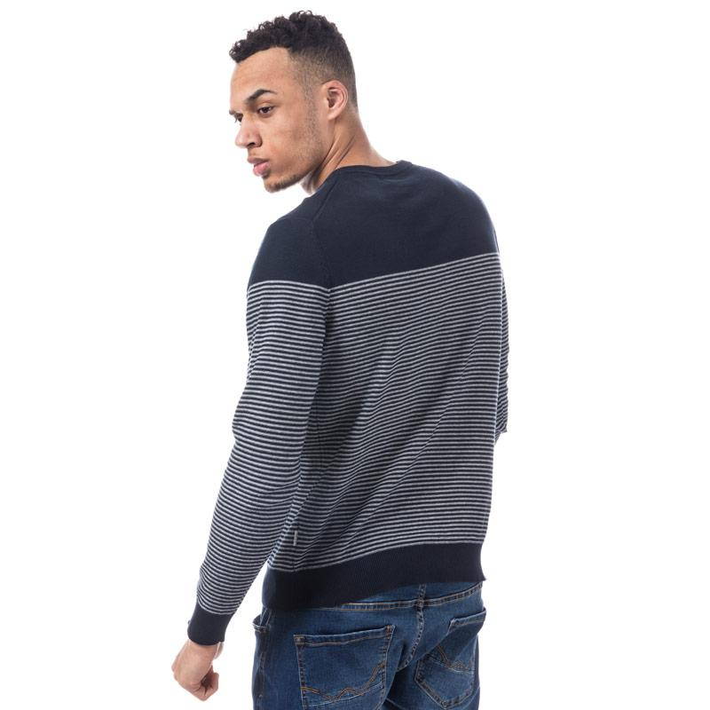 Jack Jones Mens Boost Knit Navy