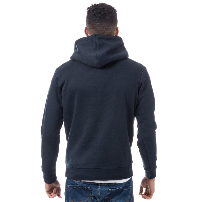 Mikina Jack Jones Mens Mattia Logo Hoody Navy