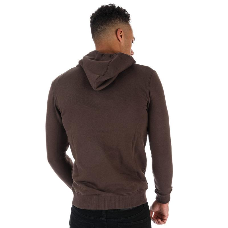 Mikina Gym King Mens Tracksuit Top Brown