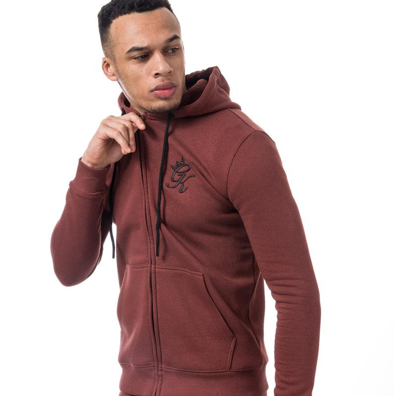 Mikina Gym King Mens Tracksuit Top Red