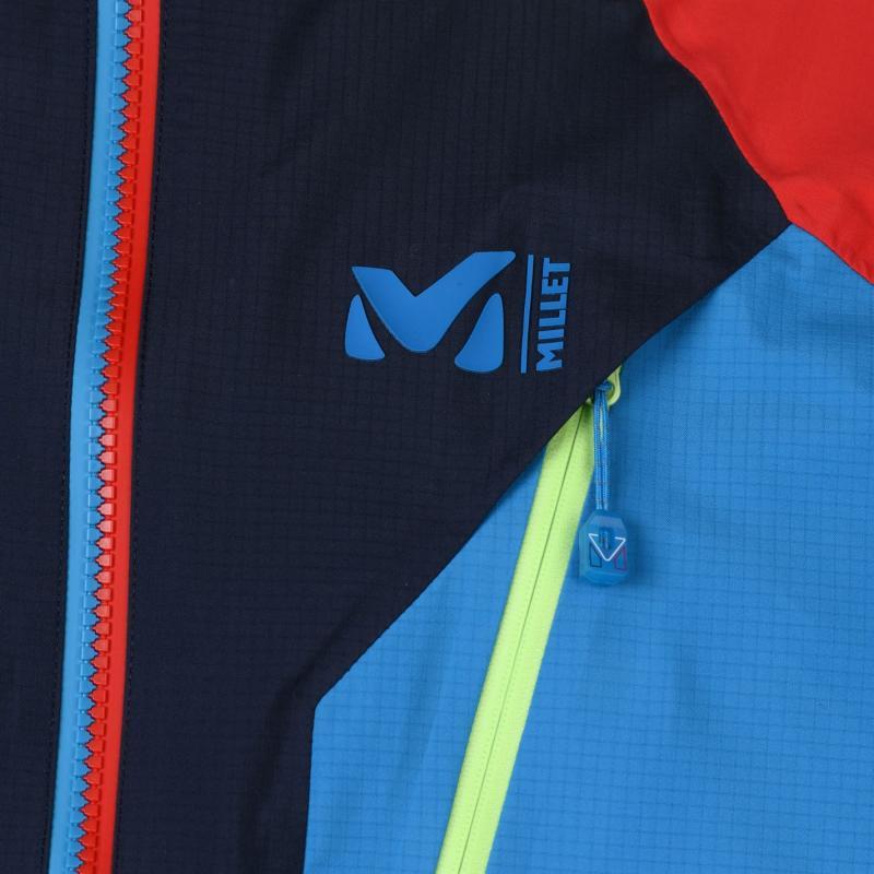 Millet Trilogy GTX Jacket Mens Blue/Red