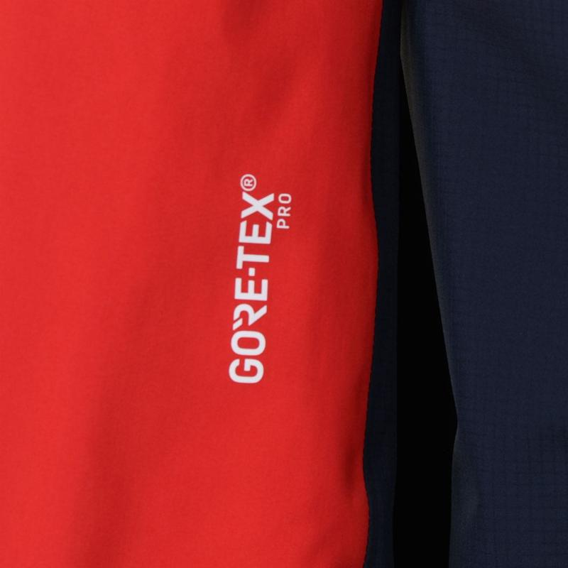 Millet Trilogy GTX Jacket Mens Blue/Red