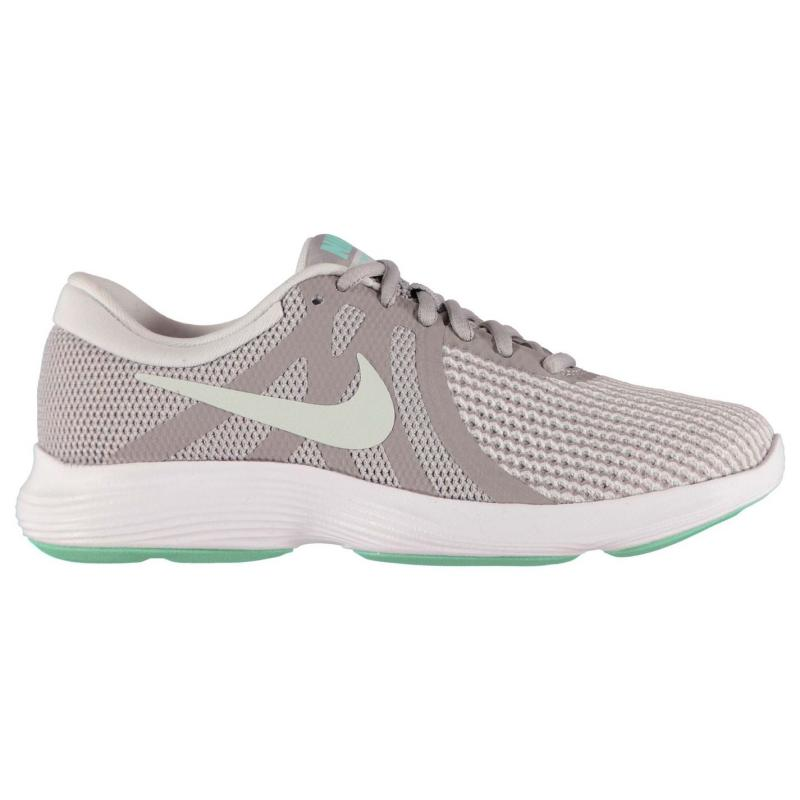 Nike Revolution 4 Trainers Ladies Purple/White
