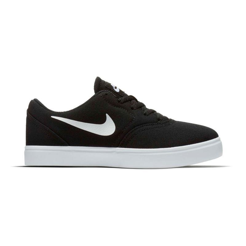 Boty Nike SB Check Canvas Shoe Child Boys Black/White