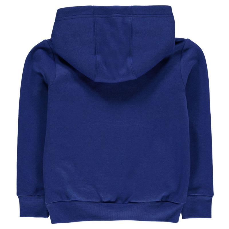 Mikina Slazenger Over The Head Fleece Hoody Infant Boys Dark Blue
