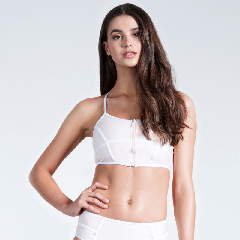 Plavky SoulCal Panel Bikini Top Ladies Blush
