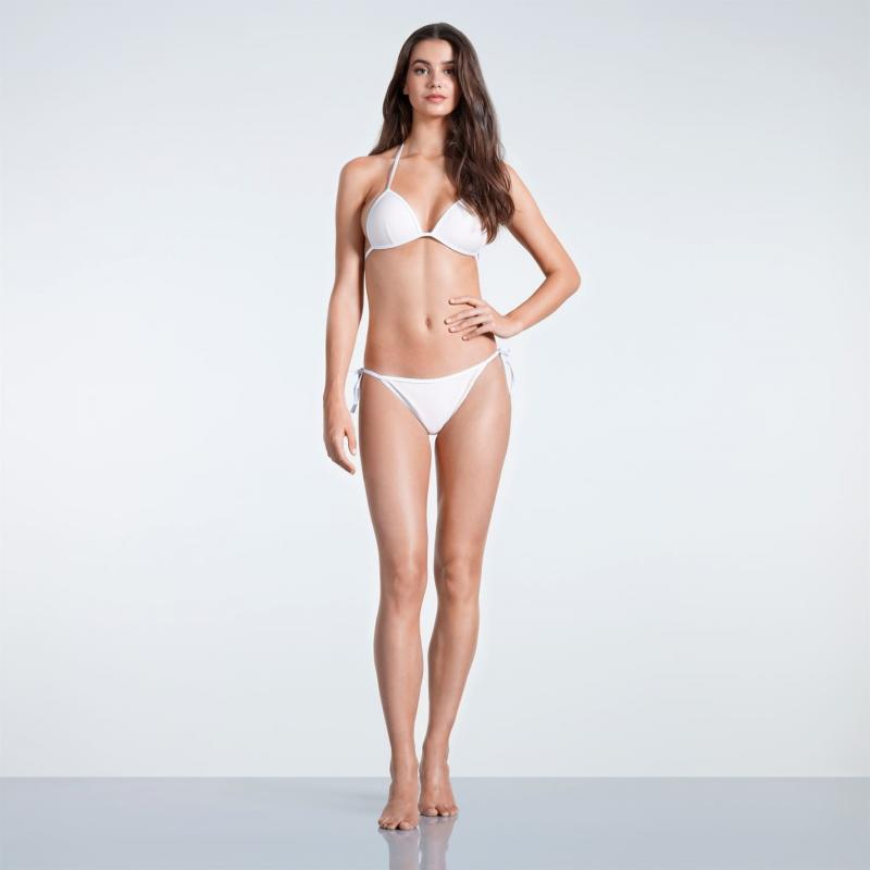 Plavky SoulCal Triangle Bikini Bottoms Ladies Blush