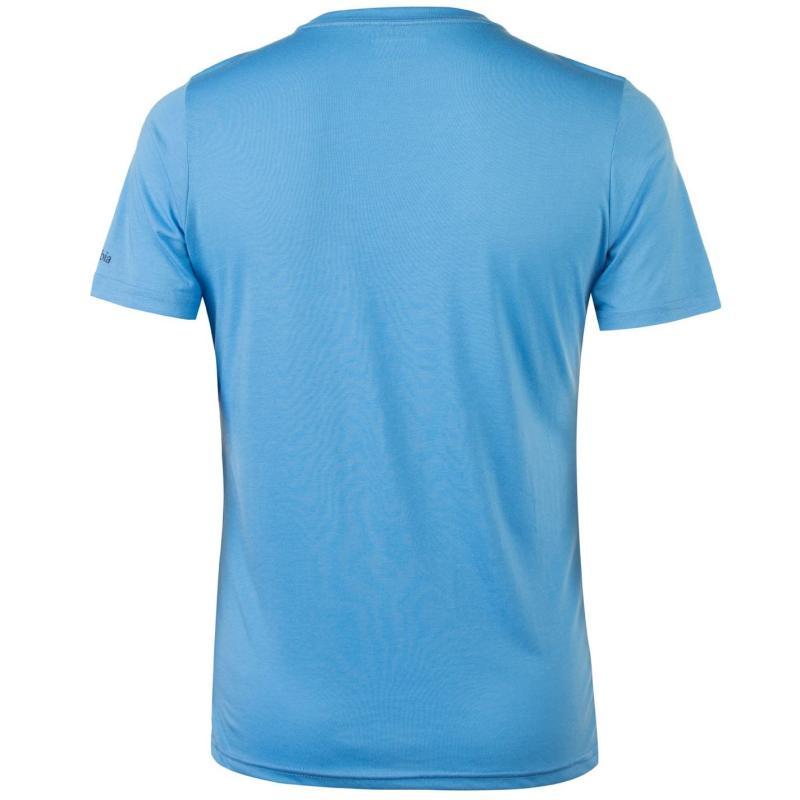 Tričko Columbia Miller Valley T Shirt Mens Blue
