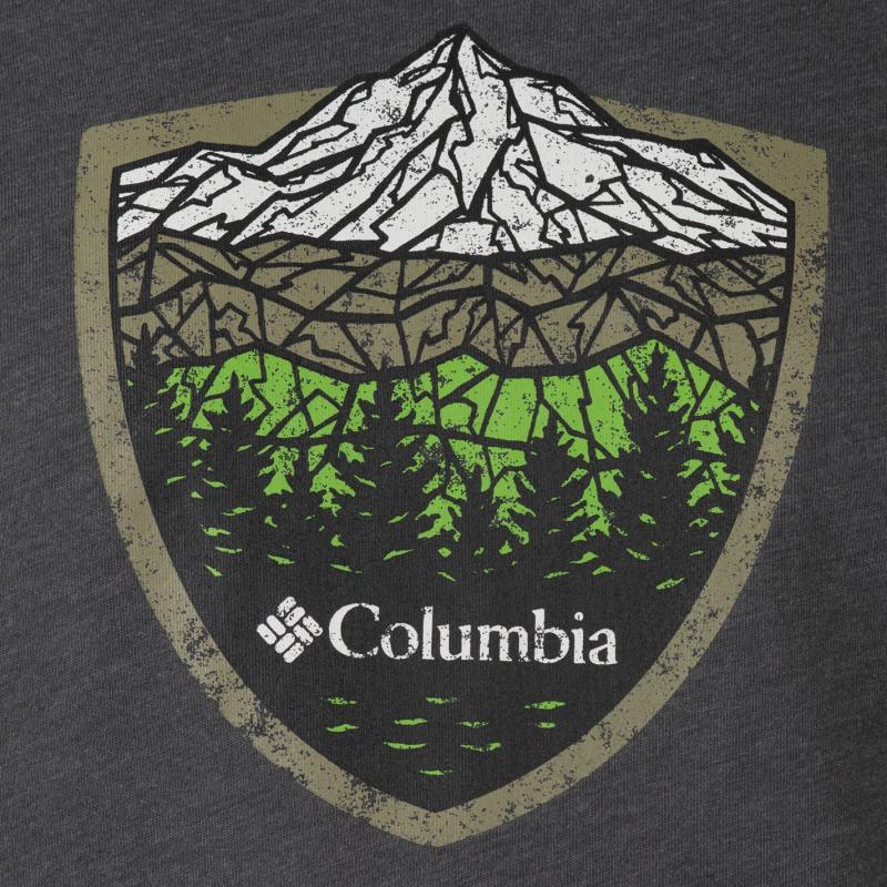 Tričko Columbia Valley T Shirt Mens Grey