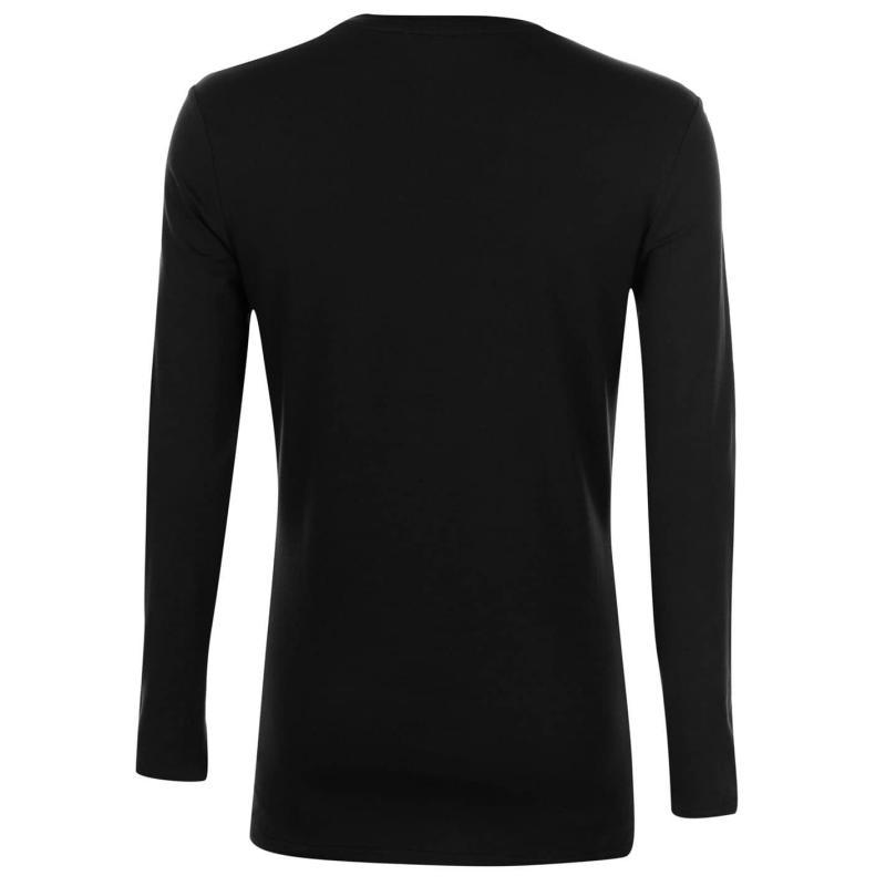 Tričko Everlast Long Sleeve T Shirt Mens Navy