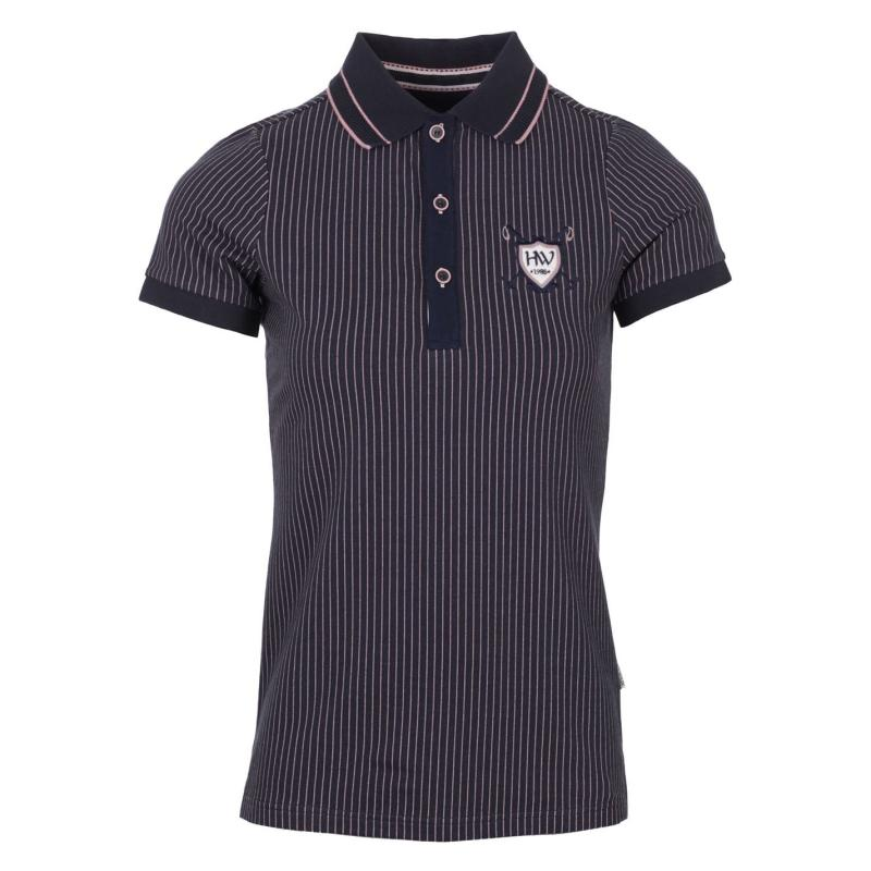 Polokošile Horseware Tilly Jersey Polo Ladies Navy