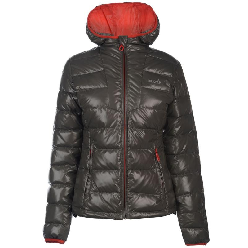 IFlow Diamond Series Jacket Ladies Grey/Red