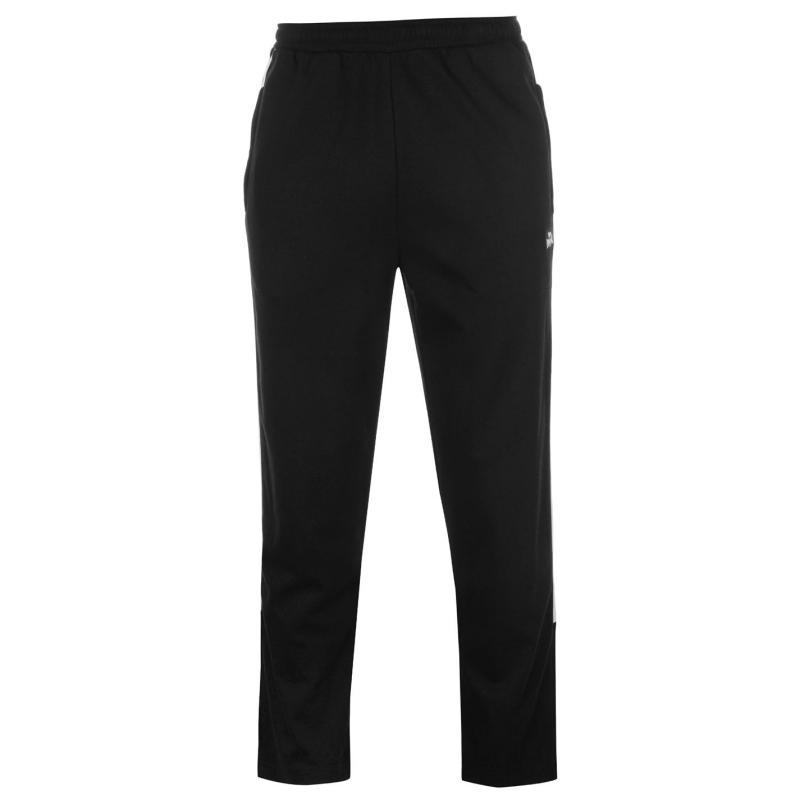 Tepláky Lonsdale Interlocked Jogging Pants Mens Black
