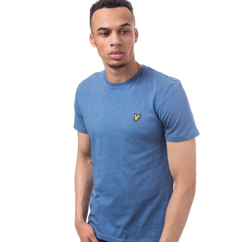 Tričko Lyle And Scott Mens Crew Neck T-Shirt Royal Blue