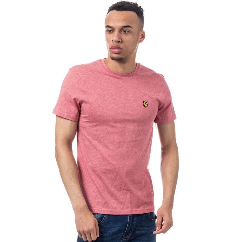 Tričko Lyle And Scott Mens Crew Neck T-Shirt Pink