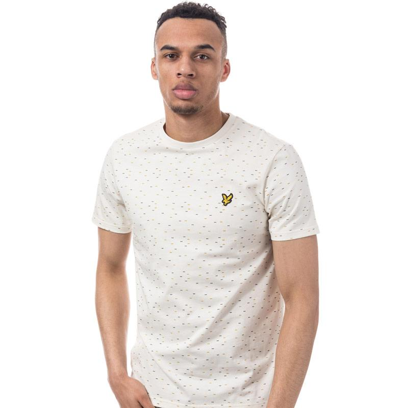 Tričko Lyle And Scott Mens Fil Coupe T-Shirt Navy