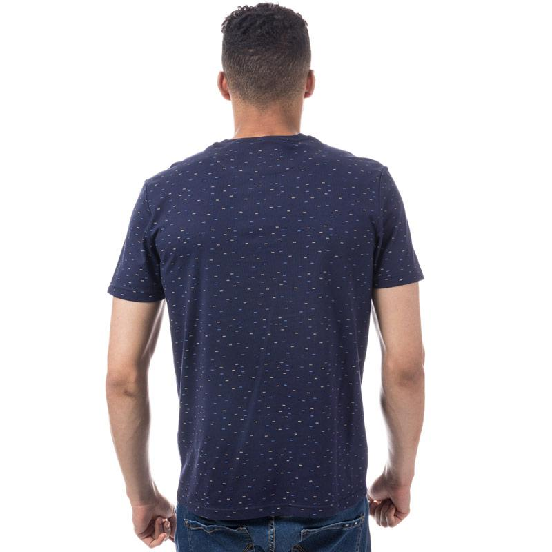Tričko Lyle And Scott Mens Fil Coupe T-Shirt Navy