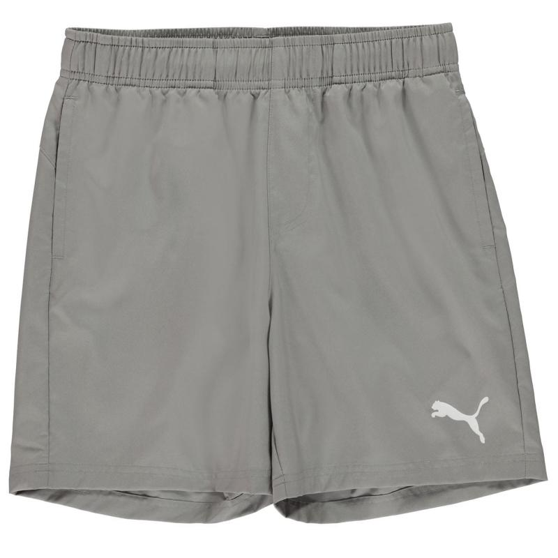 Kraťasy Puma Essential Logo Shorts Junior Boys Grey