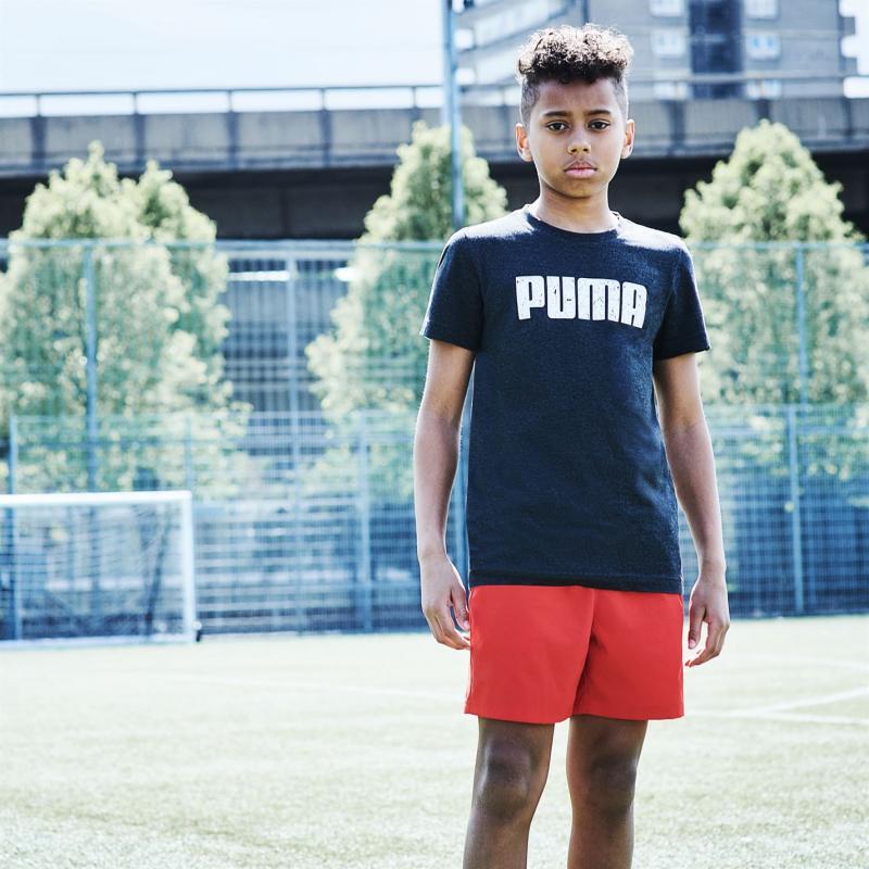 Kraťasy Puma Essential Logo Shorts Junior Boys Navy