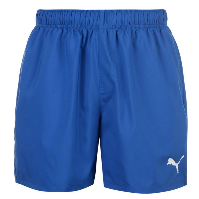 Puma Football Training Shorts Mens Royal