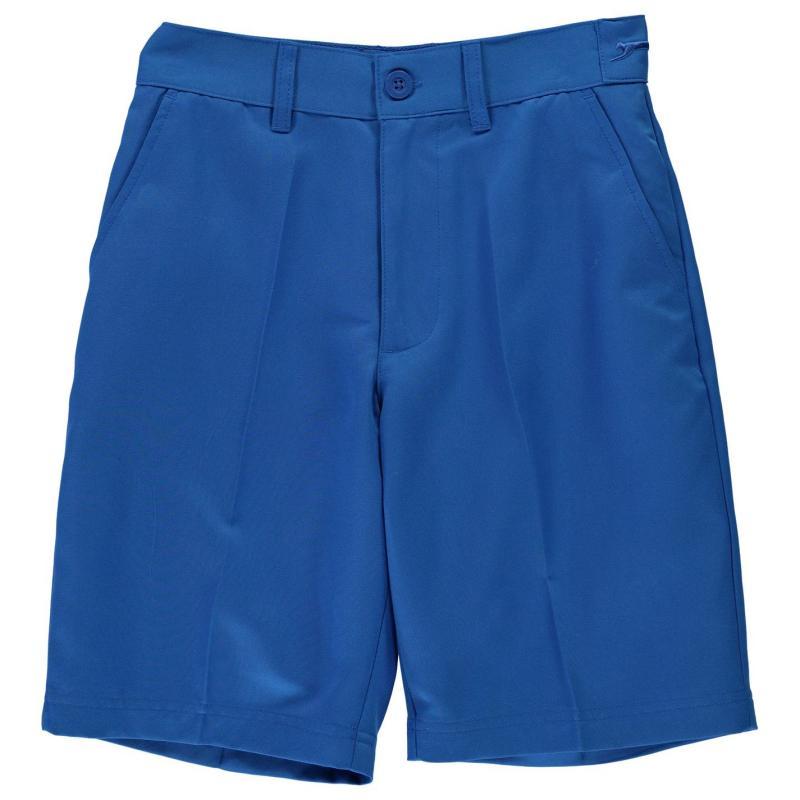 Kalhoty Slazenger Golf Shorts Junior Boys Blue