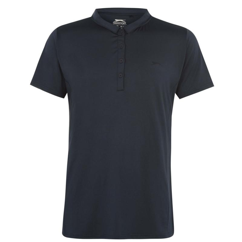 Polokošile Slazenger Plain Polo Shirt Ladies Navy