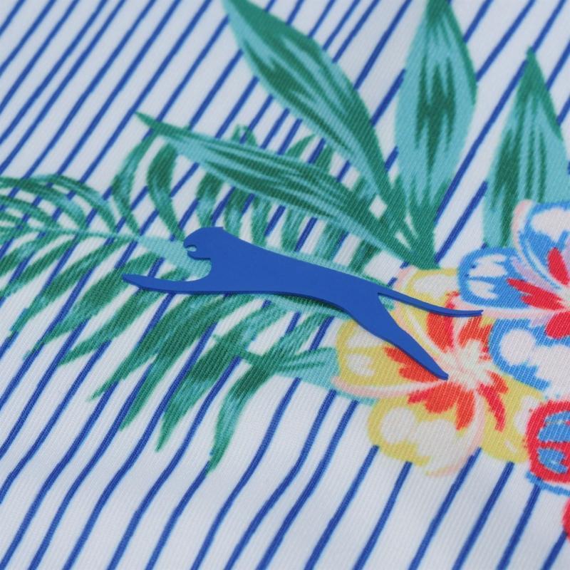 Polokošile Slazenger Sleeveless Print Polo Top Ladies Multi Print