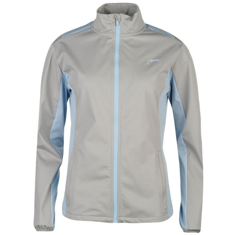 Slazenger Softshell Golf Jacket Ladies Grey
