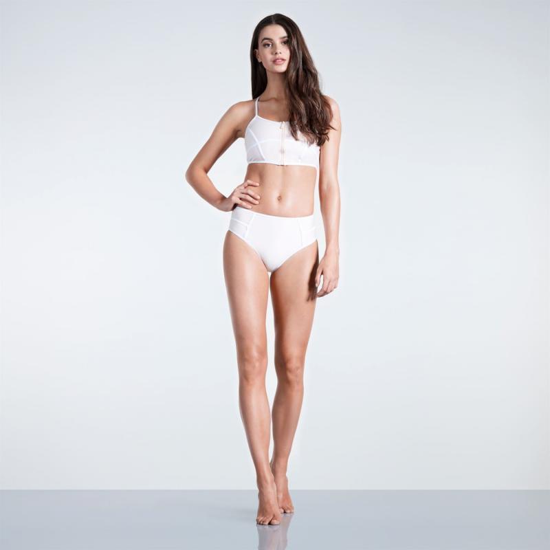 Plavky SoulCal Panel Bikini Bottoms Ladies Blush Velikost - 10 (S)