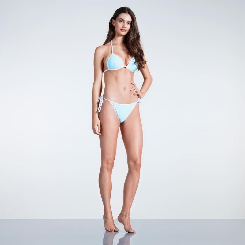 SoulCal Triangle Bikini Bottoms Ladies Turquoise