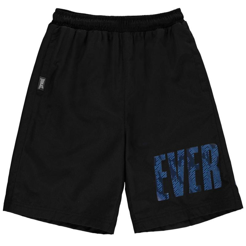 Kraťasy Everlast Large Logo Woven Shorts Junior Boys Blue