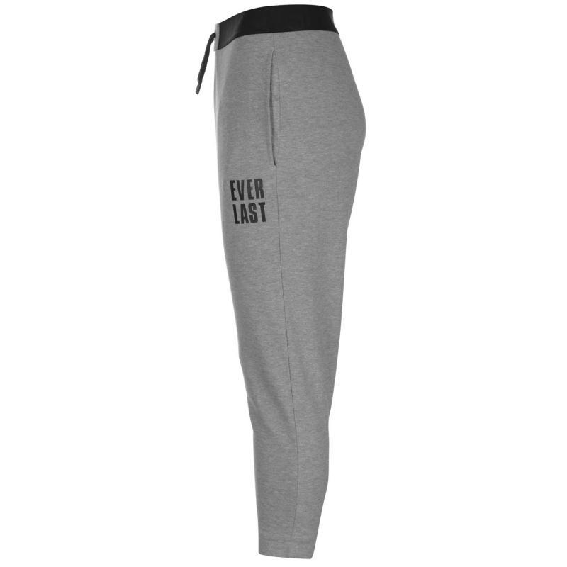 Sportovní kalhoty Everlast three quarter Interlocked Jogging Pants Ladies  Black c2a521086d