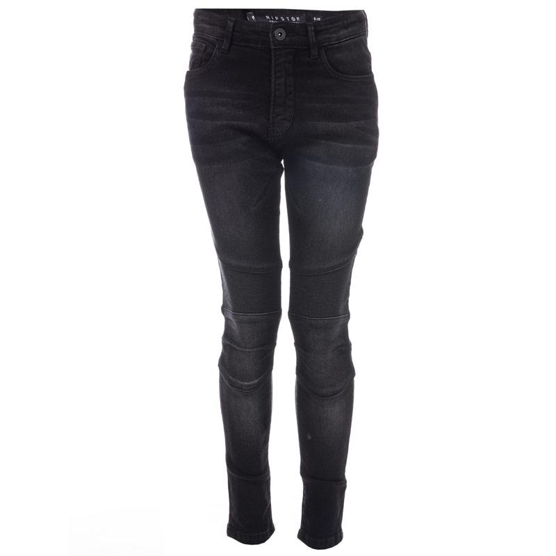 Kalhoty Ripstop Infant Boys Cerdar Stretch Skinny Jeans Black