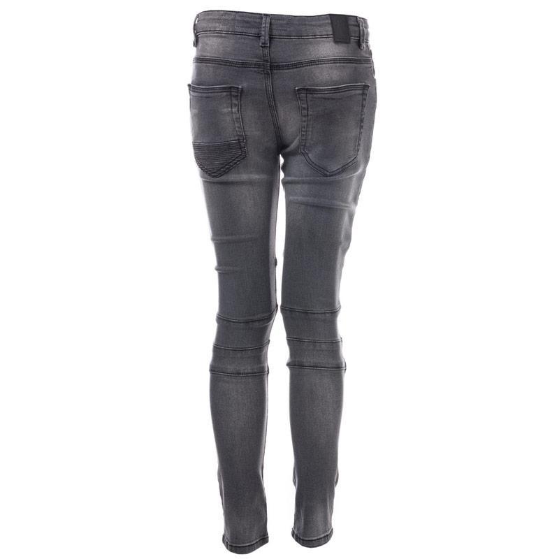 Kalhoty Ripstop Junior Boys Cerdar Stretch Skinny Jeans Black