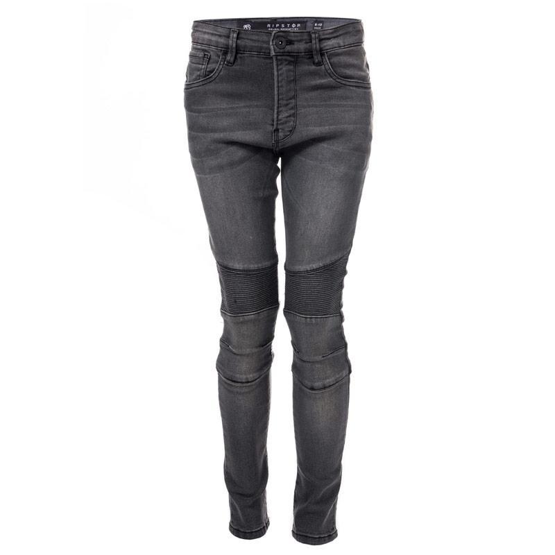 Kalhoty Ripstop Junior Boys Cerdar Stretch Skinny Jeans Grey