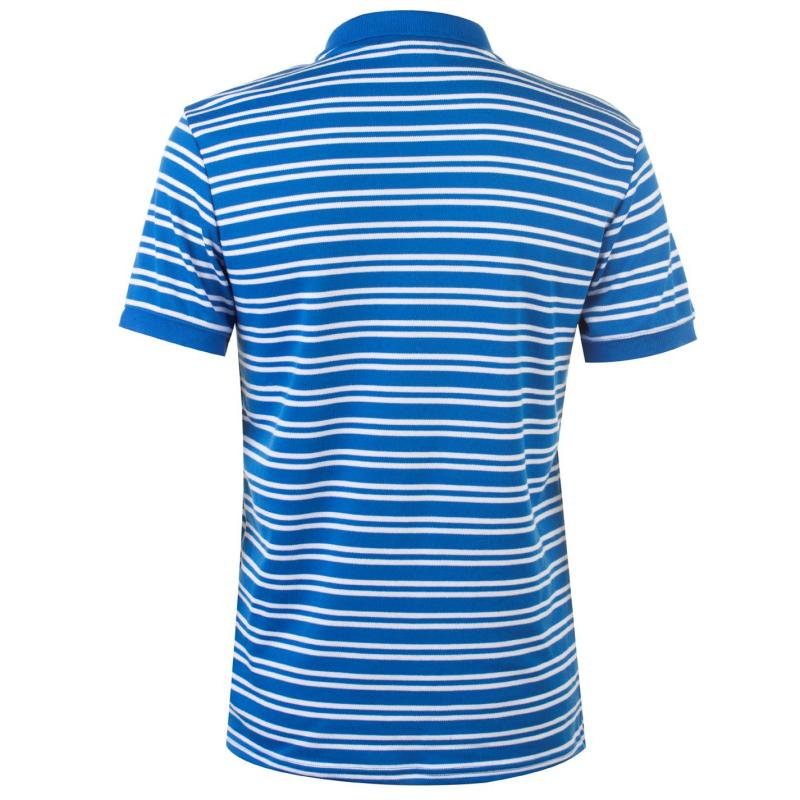 Lee Cooper Interlock Polo Shirt Mens Blue